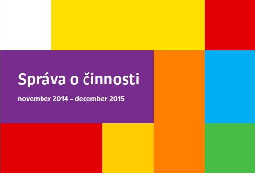 Výročná správa o našej činnosti za rok 2015 (pdf)