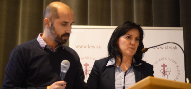 Katka a Kamil z FAMILY GARDEN prednášali v Badíne o výzvach, akým čelia manželstvá