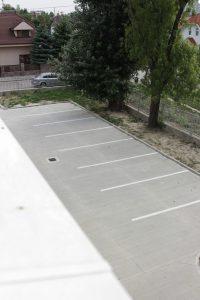 Parkovisko, pre klientov