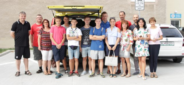 Chlapci z ukrajinského sirotinca