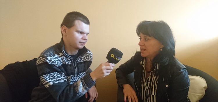 Rozhovor pre rádio Lumen